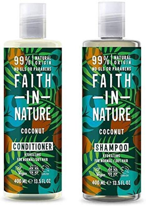 Faith In Nature Coconut Shampoo and Conditioner