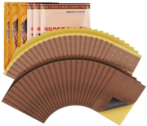 Sprain Shoulder and Back Pain Relief Herbal Patches - 48 Pcs