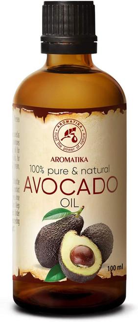 Avocado Oil 100% Pure Cold Pressed-100ml