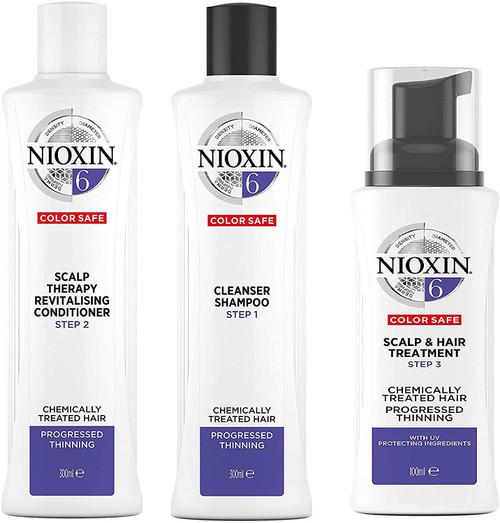 Nioxin 3 Part Loyalty Kit System 6