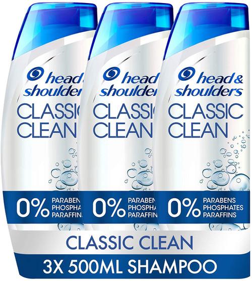 Head And Shoulders Classic Clean Anti Dandruff Shampoo Set