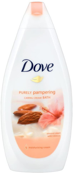 Dove Purely Pampering Almond caring cream bath-500ml