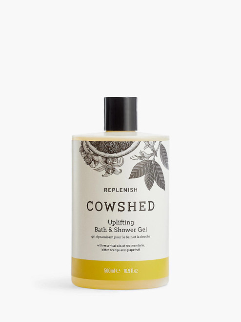 Cowshed Replenish Uplifting Bath and Shower Gel-500ml