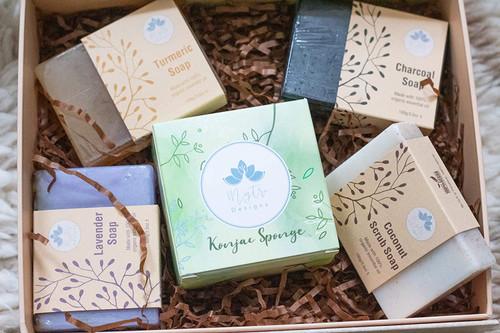 Luxury Vegan Ayurvedic Soap Collection Gift Set