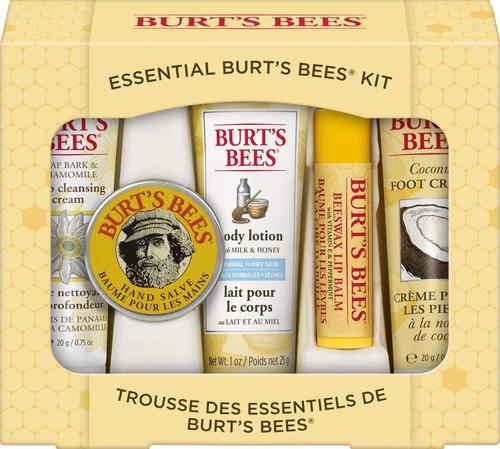 Burt's Bees Essential Body Kit Gift Set-5 Pcs