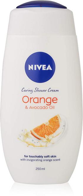 NIVEA Indulgent Moisture Orange Shower Cream-6 x 250 ml