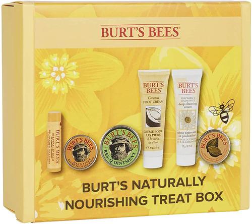 Burt's Bees Naturally Nourishing Treat Gift Set-6 Piece
