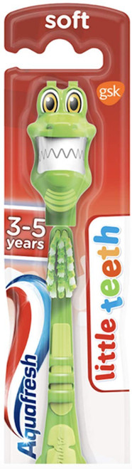 Aquafresh Kids Little Teeth Soft Colorful Design Toothbrush Soft