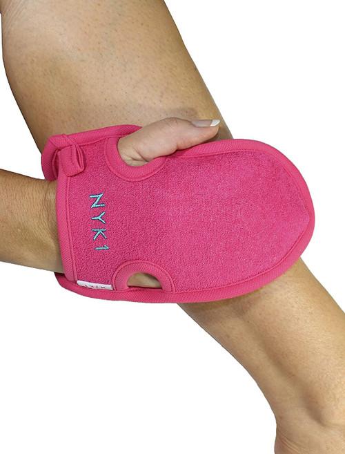 Dry Dead Flakey Skin Tan Remover Body Scrub Exfoliator Glove