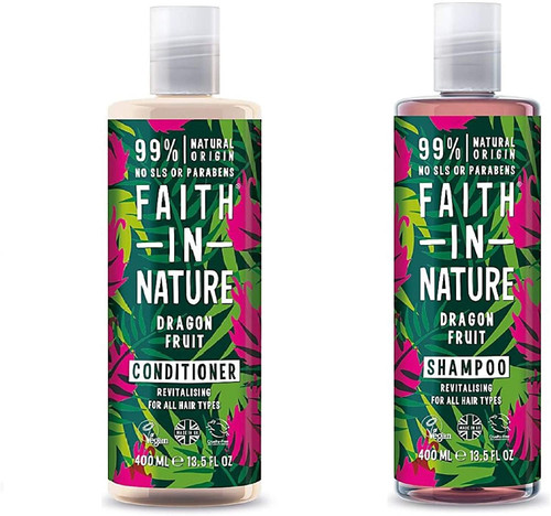 Faith in Nature Dragon Fruit Shampoo And Conditioner
