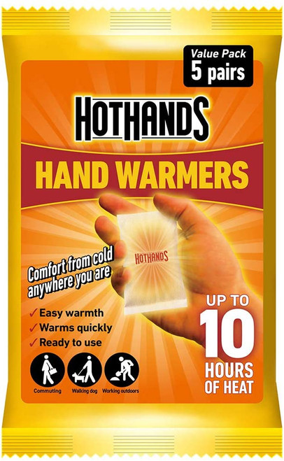 HOTHANDS Warms Quickly and Comfortable Foot Warmers - 5 Pairs