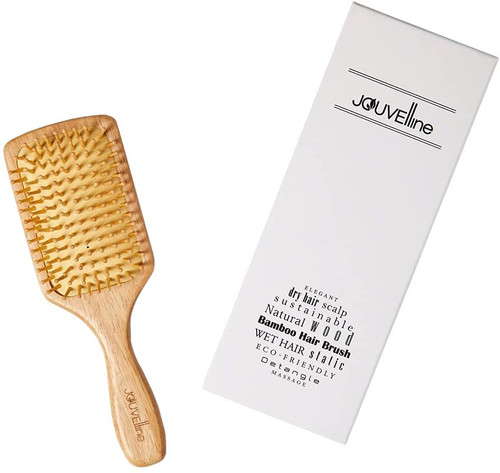 Jouvelline Natural Bamboo Paddle Hairbrush