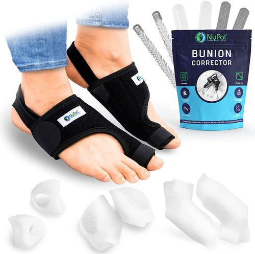 NYPOT Flexible Size Bunion Corrector Big Toe Straightener