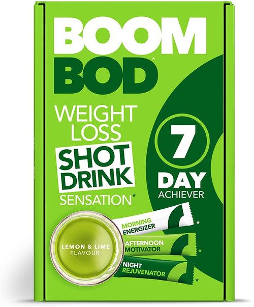 Boombod Quick Weight Loss Tasty Shot Diet Drink - Lemon Lime