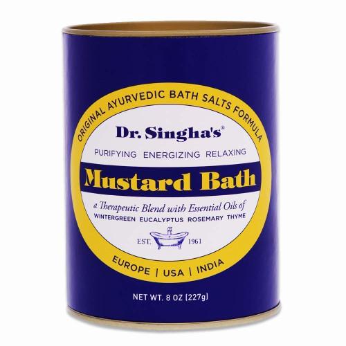 Dr. Singha's Mustard Bath Therapeutic Bath Salts-8 Ounce