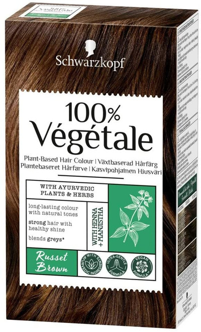 Schwarzkopf Vegan Hair Dye-Russet Brown