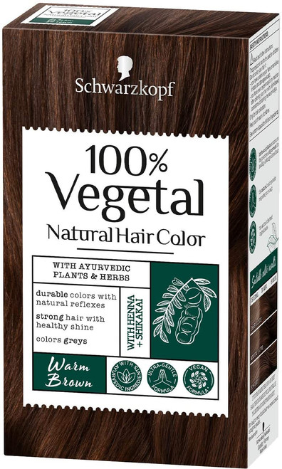 Schwarzkopf Vegan Hair Dye-Warm Brown