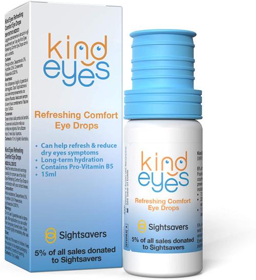 Kind Eyes Refreshing Comfort Eyes Rehydrating Drops - 15ml
