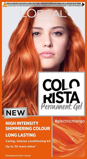 LOreal Paris Colorista Permanent Gel Hair Dye-Mango Auburn