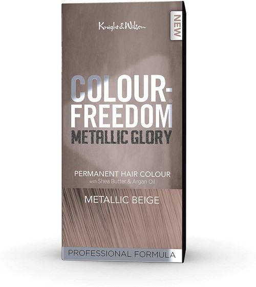 Knight And Wilson Metallic Beige Permanent Hair Colour