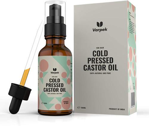 Cold Pressed Castor Oil Organic-100ml