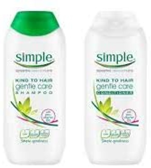 Simple Kind To Hair Shampoo And Conditioner Set