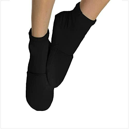 NatraCure Sore and Swallow Foot Cold Therapy Gel Socks - Large