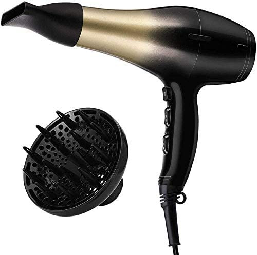 KIPOZI High Speed Blow Dryer with Styling Diffuser and Concentrator