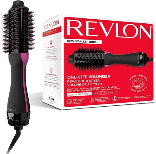 Revlon One Step Styling Hot Air Brush for Medium to Short Hair