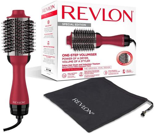 Revlon One Step Volumiser Styler Brush with Titanium Coating