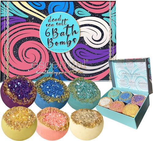 Escential Organic Bath Bombs Gift Set