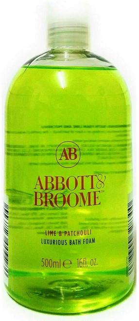 Abbott & Broome Lime & Patchouli Bubble Bath Foam-500ml