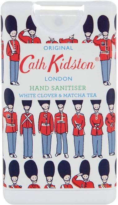 Cath Kidston Guards Design White Clover and Matcha Tea Hand Sanitiser - 15ml