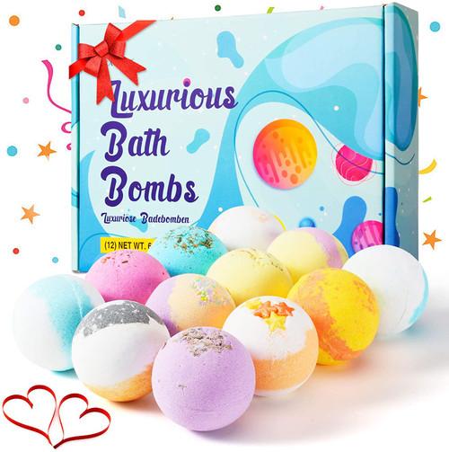Bath Bombs Gift Set-12 Pcs