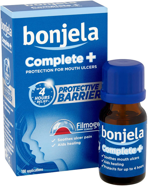 Bonjela Complete Plus Soothing Pain and Healing Mouth Ulcer -10 ml