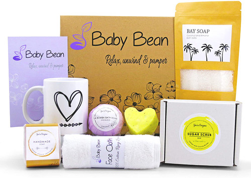 Baby Bean Relax unwind and Pamper Bath Gift Set