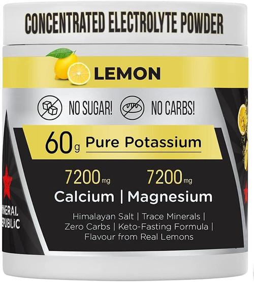 Mineral Republic Zero Carb Electrolyte Diet Powder with Keto Formula - 60g