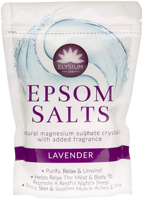 Lavender Elysium Spa Epsom Bath Salts-450g