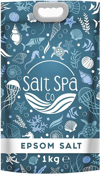 Salt Spa Co Bath Salts Ultra Pure Epsom Salt-1kg