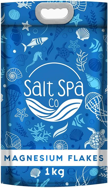 Salt Spa Co Bath Salts ULTRA PURE Magnesium Flakes-1kg