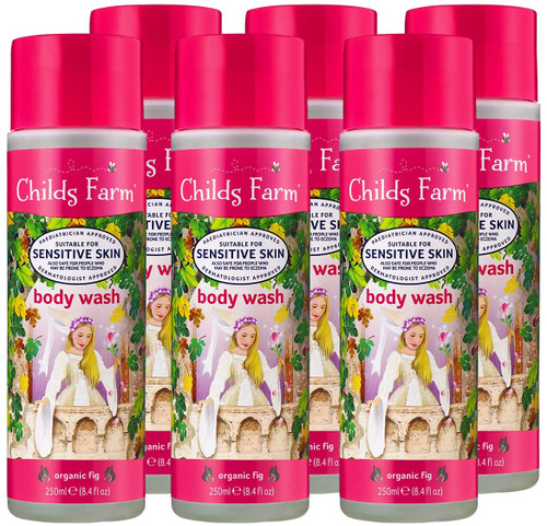 Childs Farm Kids Body Wash Organic Fig-6x250ml