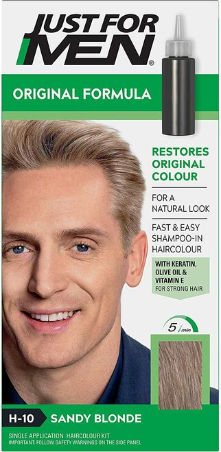 Just for men Original Formula Hair Dye-Sandy Blonde