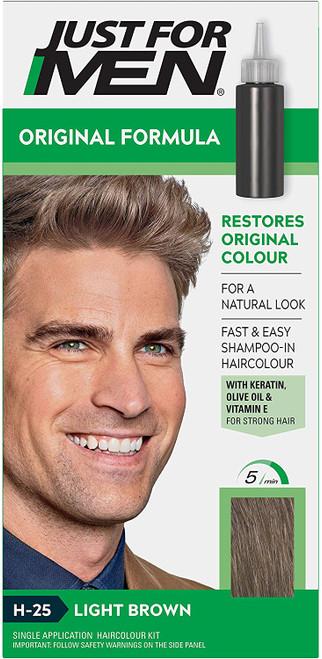 Just for men Original Formula Hair Dye-Light Brown