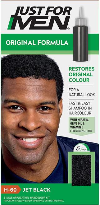 Just for men Original Formula Hair Dye-Jet Black