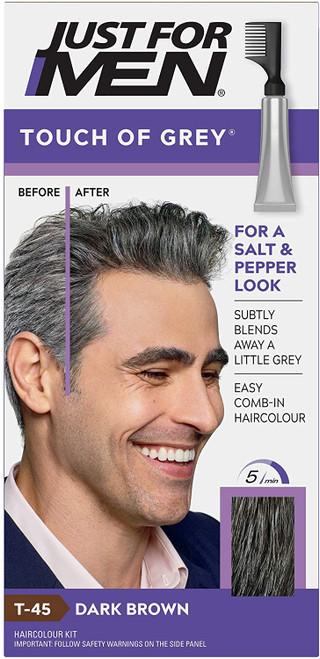 Just for men Touch of Grey Hair Dye-Dark Brown