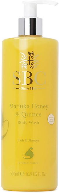 SBC Manuka Honey & Quince Body Wash-500ml
