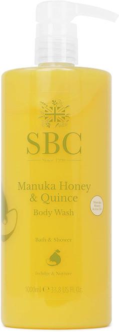SBC Manuka Honey & Quince Body Wash-1000ml