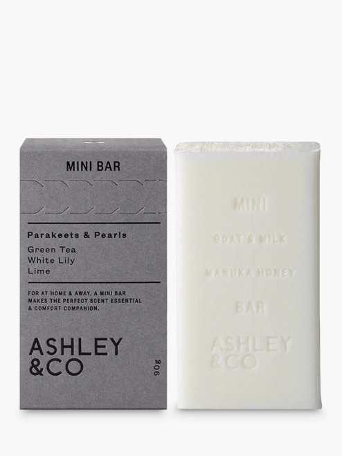 Ashley & Co Soap Bar Parakeets & Pearls-90g