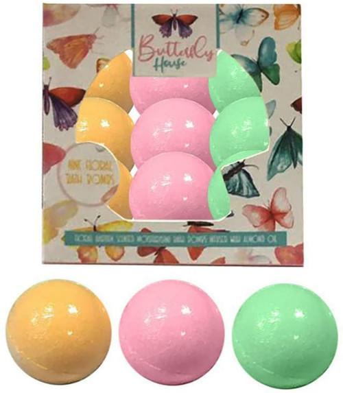 Butterfly House Bath Fizzers Bath Bomb Gift Set
