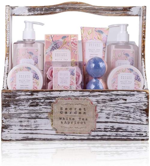 accentra Gift Set Secret Garden Bath Shower Set